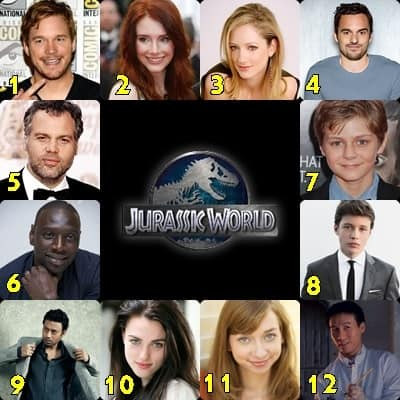 reparto de jurassic world