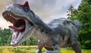 Albertosaurus atacando