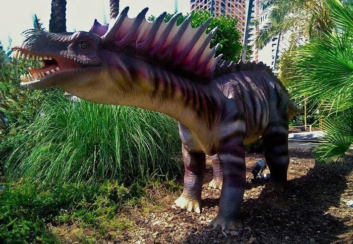 Alimentación del Amargasaurus