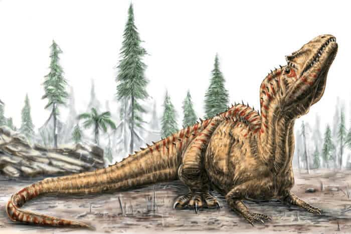 Hábitat del Saurophaganax