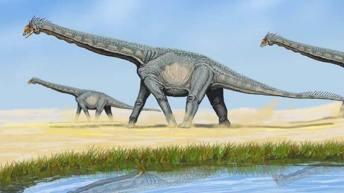Hábitat natural de Titanosaurus