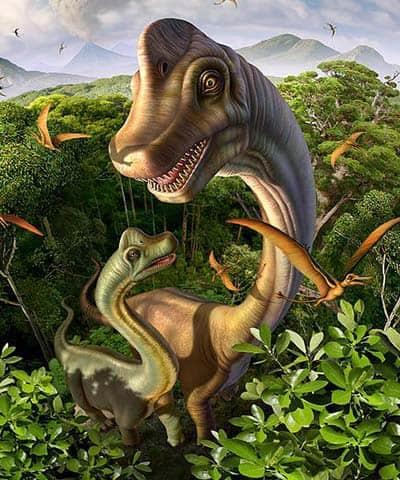 Ultrasaurus – dinosaurio herbivoro