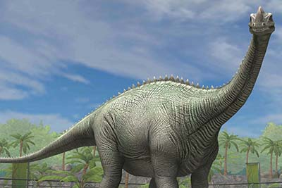 supersaurus – dinosaurio gigante
