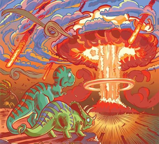 Extinción de los dinosaurios, posibilidades