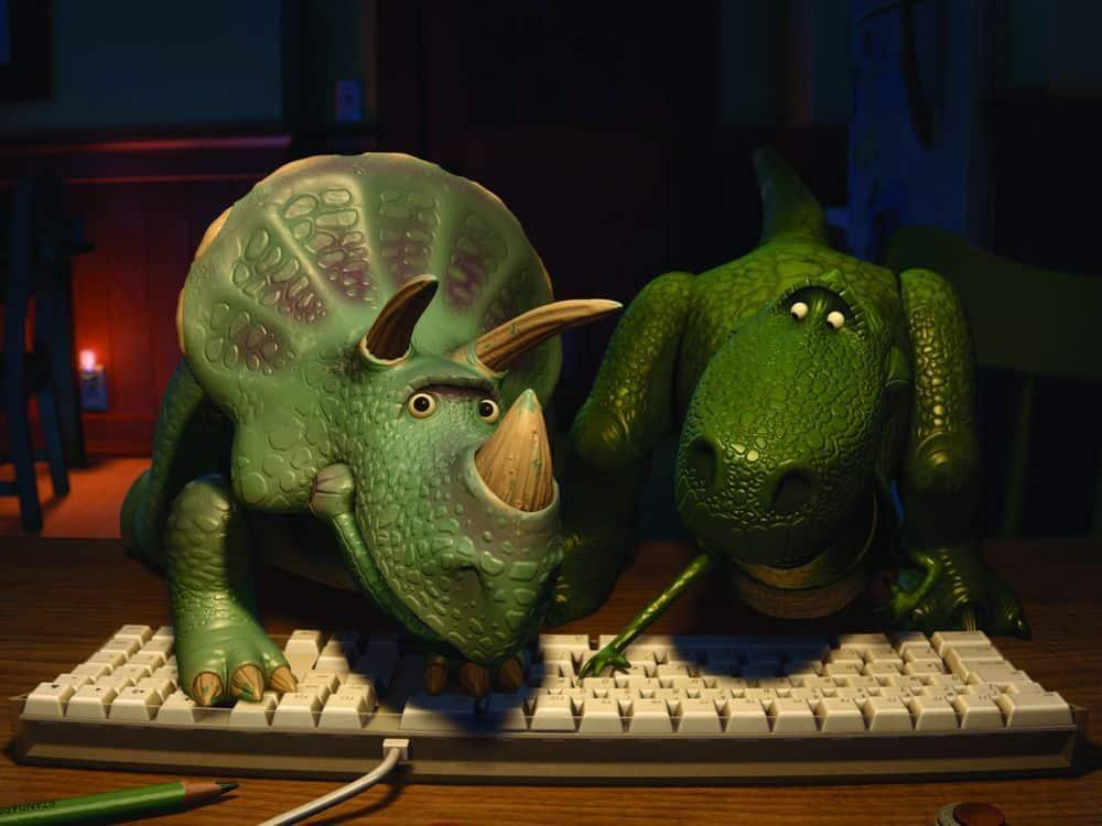Dinosaurio de Toy Story