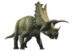 Historia del Pentaceratops